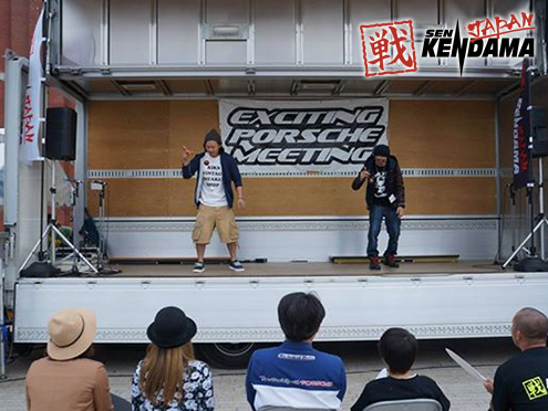 戦 SEN KENDAMA FRESH MEETING at EXCITING PORCHE MEETING